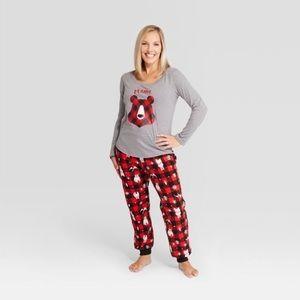 Wondershop Mama Bear Fleece Pajamas 2 Piece
